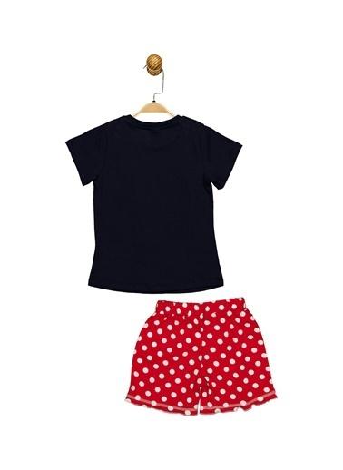 Minnie Mouse Lisanslı Çocuk Takım 18062 Lacivert